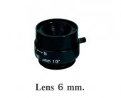 Lens Fixed 6mm.