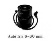 Lens Auto Iris 6-60mm.