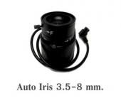 Lens Auto Iris 3.5-8mm.